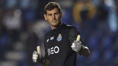Iker Casillas, en un partido reciente con el Oporto.