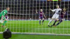 Piqué pisó el tobillo de Cristiano cuando marcó el gol del empate.