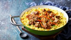 Receta de Cuscús con pollo al curry