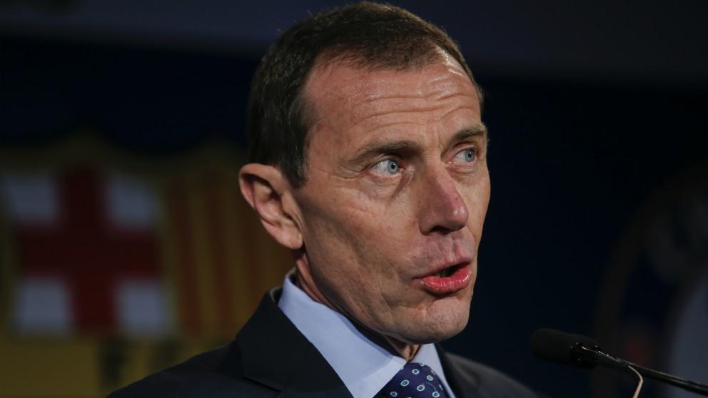 Emilio Butragueño, en un evento. (AFP)