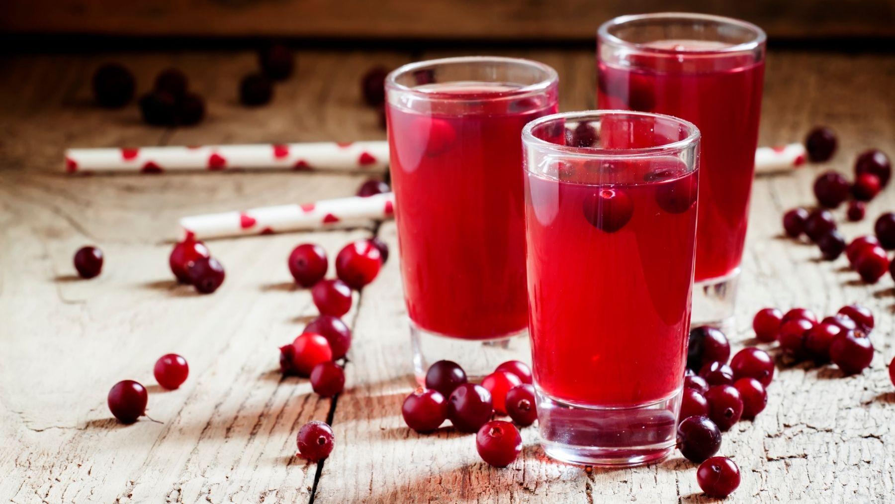 Receta de jugo o zumo de arándanos