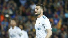 Nacho, en un lance del partido. (AFP)