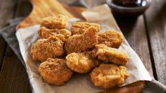 Receta de nuggets de pollo y espinacas
