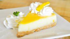 Receta de Tarta de limón sin horno fácil de preparar
