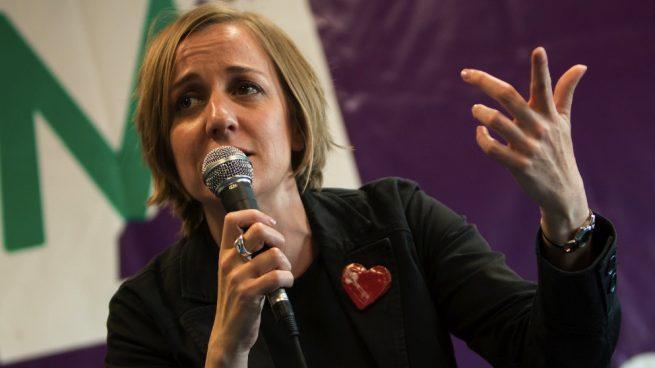 Tania Sánchez. (Foto. Sí Madrid 2019)