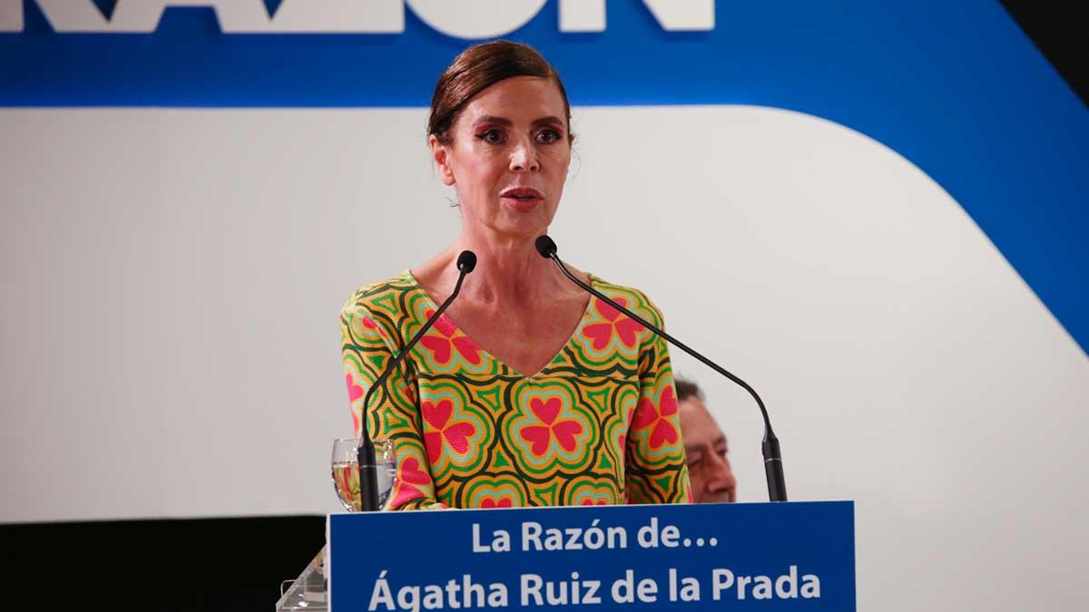 Agatha Ruiz de la Prada. (Foto: La Razón)
