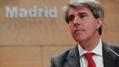 Ángel Garrido, ex presidente de la Comunidad de Madrid.
