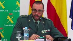 El teniente coronel de la Guardia Civil y Jefe de la Policía Judicial en Cataluña, Daniel Baena