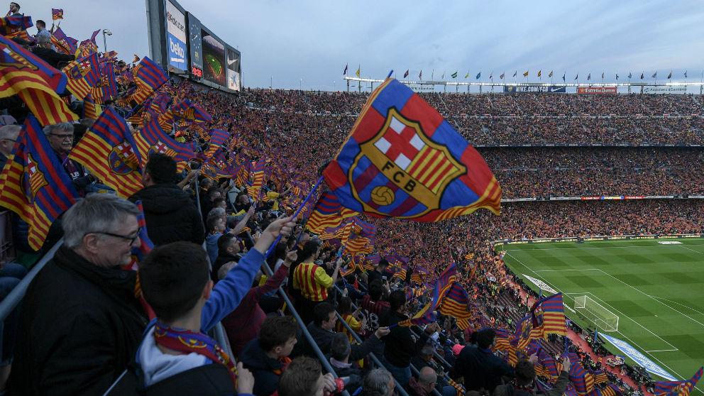 El Camp Nou. (Getty)