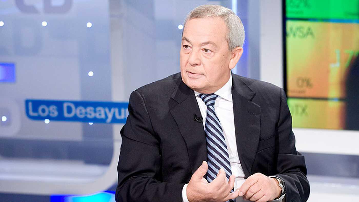 Carlos Solchaga, economista y ex ministro en los gobiernos de Felipe González.