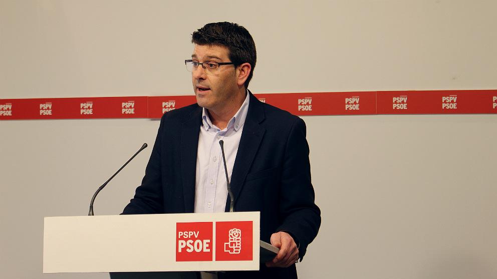 Jorge Rodríguez, portavoz del PSPV-PSOE.