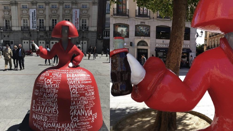 Meninas de Coca-Cola en Madrid. (Fotos. TW)