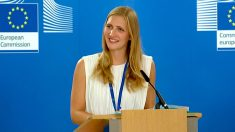 Natasha Bertaud, portavoz de Migración de la Comisión Europea.