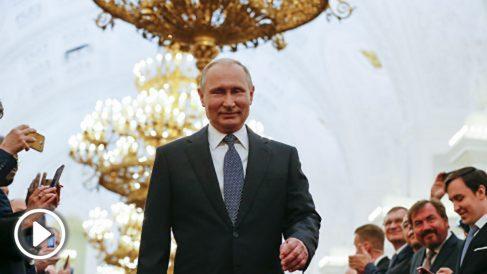 Putin investido presidente por cuarta vez (AFP).