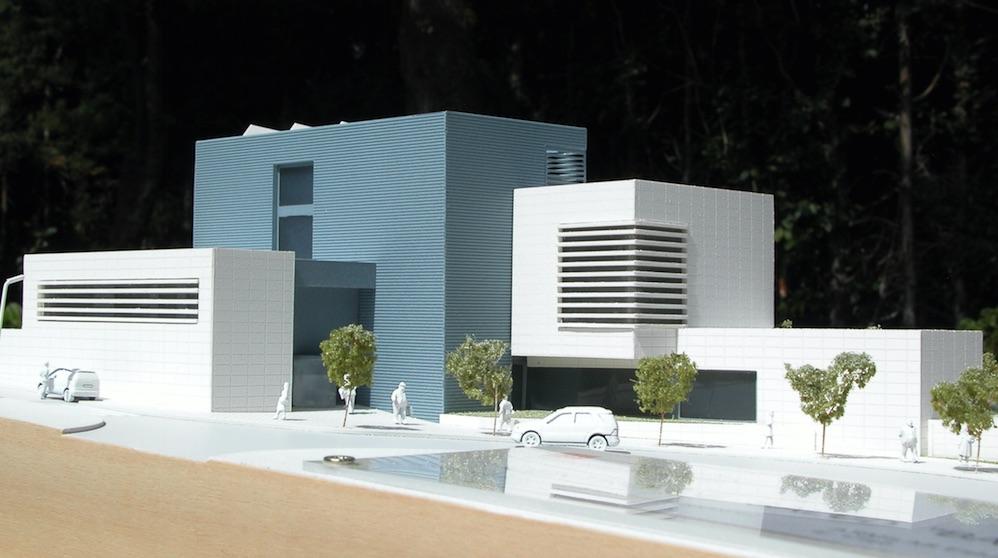 Recreación del nuevo centro de salud Babiera.