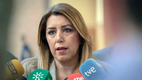 Susana Díaz, presidenta de la Junta de Andalucía. (EFE)