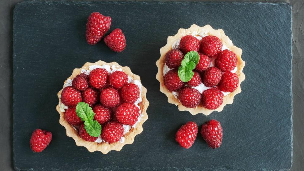 Receta de Tartaletas de frutos rojos fácil de preparar