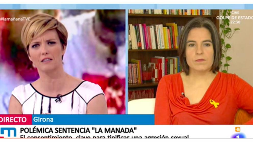 Programa La Mañana, de TVE.