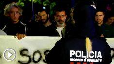 Miembros de los GDR y de los CDR se citan en la misma de plaza de Barcelona con la presencia de los Mossos