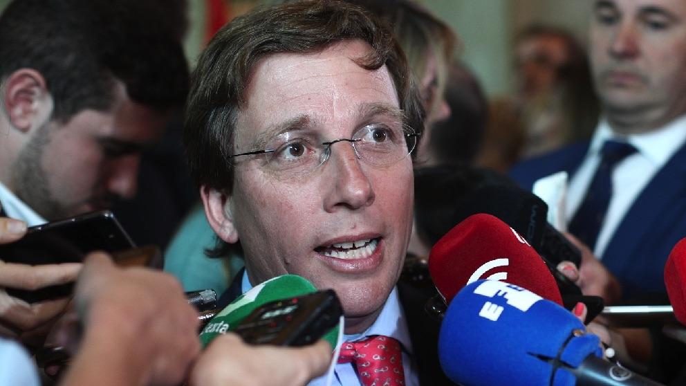 José Luis Martínez-Almeida. (Foto. Europa Press)