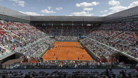 La pista central de la Caja Mágica | Mutua Madrid Open