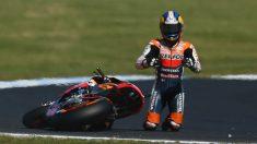 Dani Pedrosa es uno de los pilotos más castigados por las lesiones de toda la historia del mundial de motociclismo. (getty)