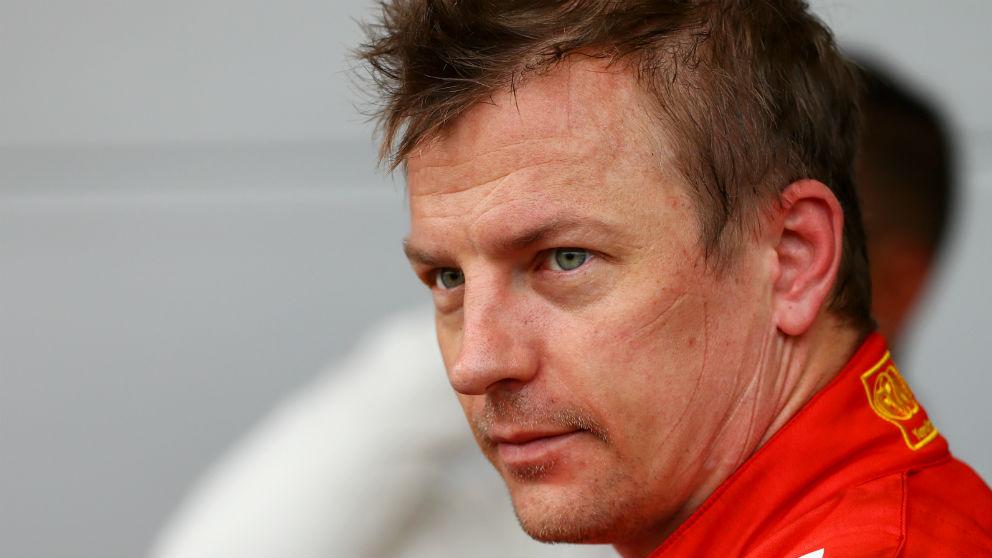Kimi Raikkonen, en su época en Ferrari. (Getty)
