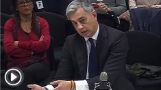 El ex secretario general del PP valenciano Ricardo Costa, durante su declaración en el juicio de la Gürtel.