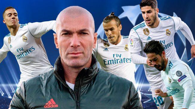 Zidane tiene un sitio libre en el once de Kiev