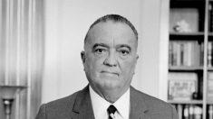 El 10 de mayo de, 1924 J. Edgar Hoover es nombrado director del FBI.