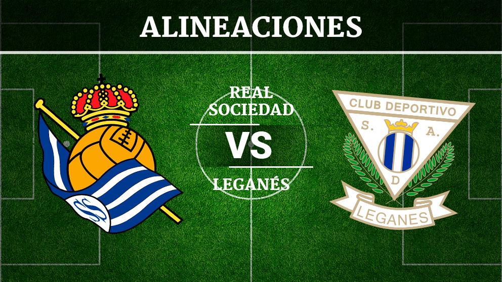 Consulta las posibles alineaciones del Real Sociedad – Leganés.