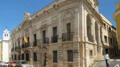 El Ayuntamiento de Mahón, en Menorca.