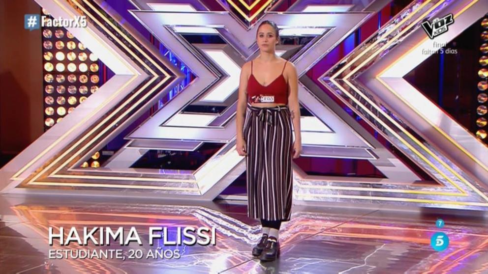 Hakina Flissi ha enamorado al jurado de 'Factor X'