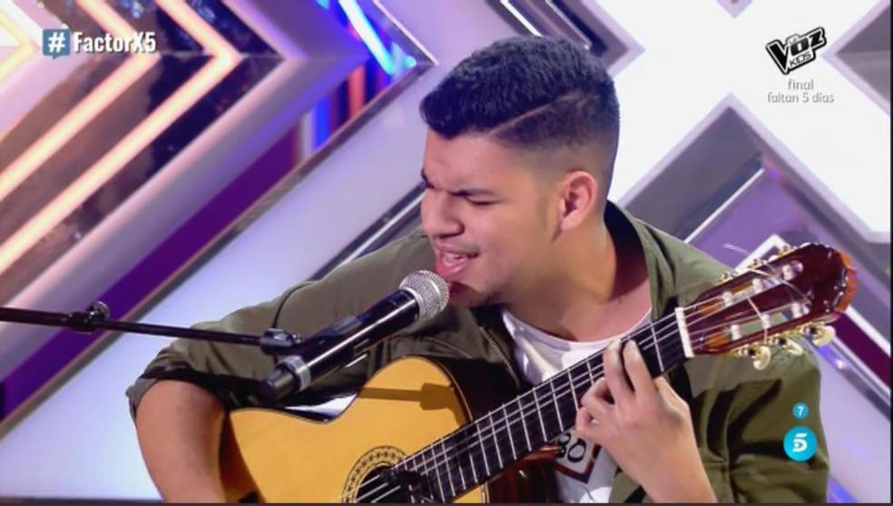 Riduan Moh en su actuación en 'Factor X'