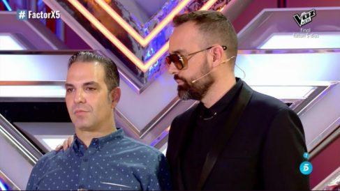 Risto se ha ofrecido a ser manager de Roberto en 'Factor X'