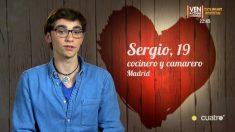 Sergio se consideraba un ángel, pero Celia no lo entendió en 'First Dates'