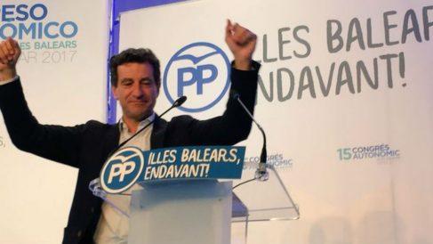 El presidente del PP Baleares, Biel Company