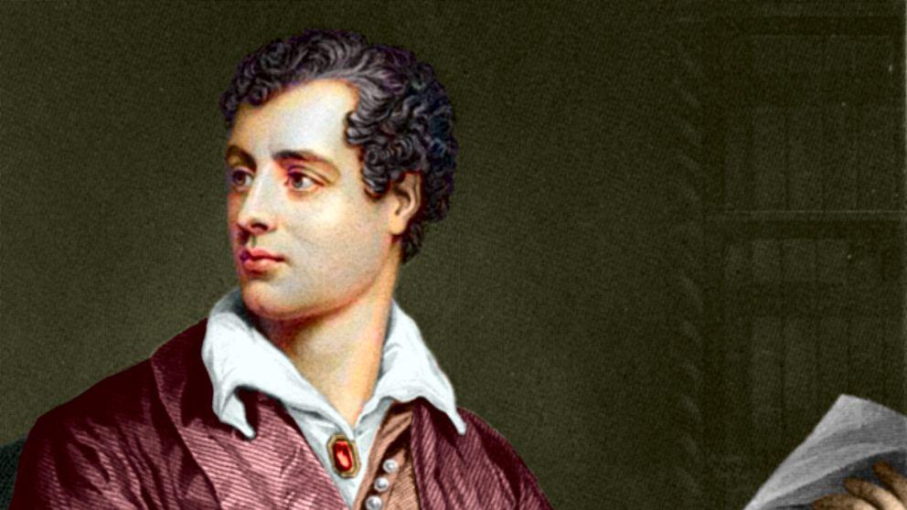 Lord Byron, el máximo representante del romanticismo literario