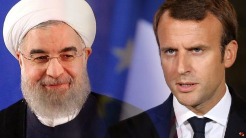 Macron y Rohani ratifican el Acuerdo Nuclear.