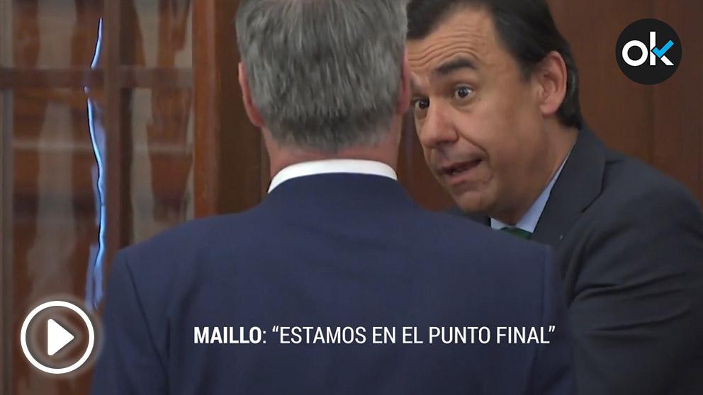 Fernando Martínez Maíllo (PP) y José Manuel Villegas (C's)
