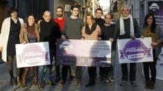 Los miembros del consejo ciudadanos de Podemos Sevilla.