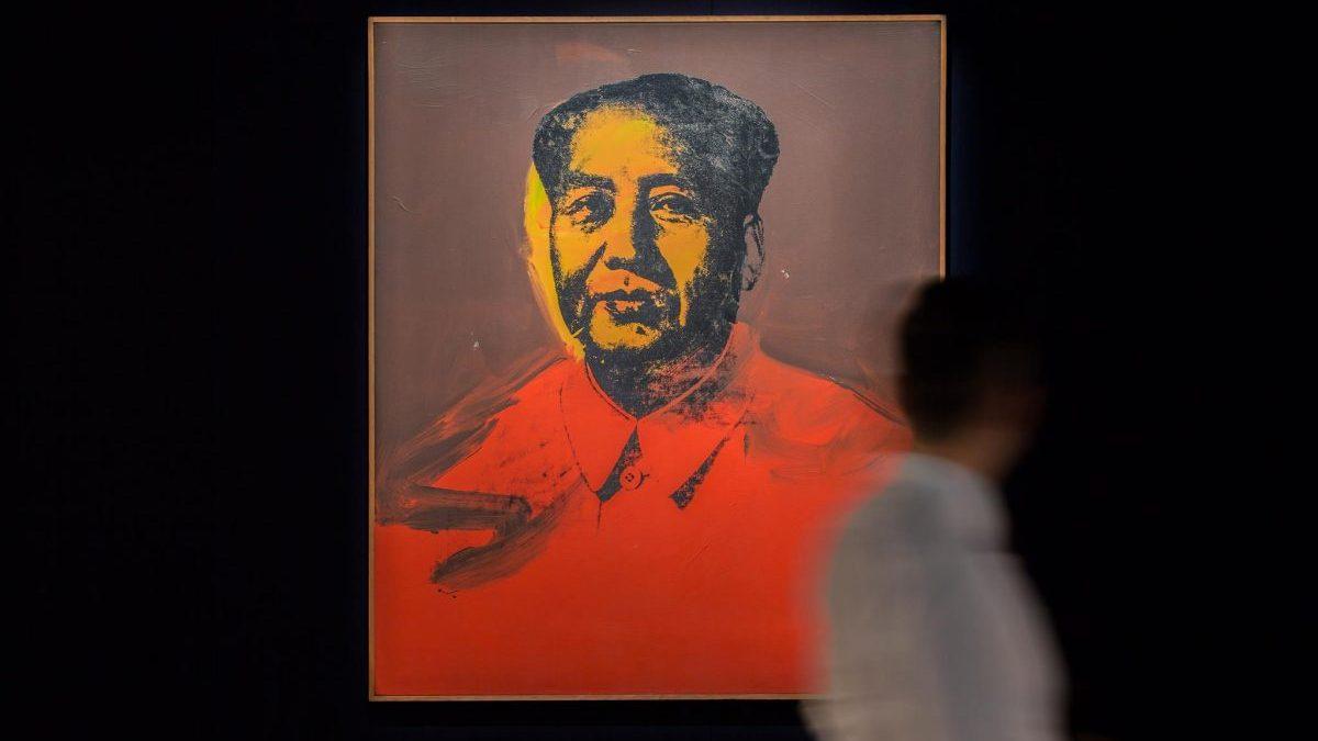 Retrato de Mao de Andy Warhol (1973) Foto. Facebook