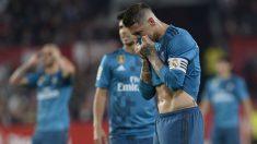 Sergio Ramos se lamenta tras fallar un penalti. (AFP)