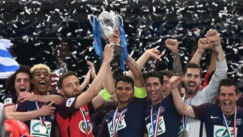El detallazo de Thiago Silva con el Les Herbiers (AFP)