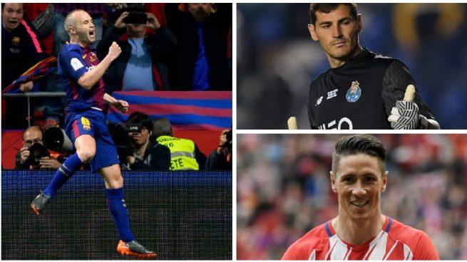 Casillas, Torres e Iniesta están en búsqueda activa de empleo