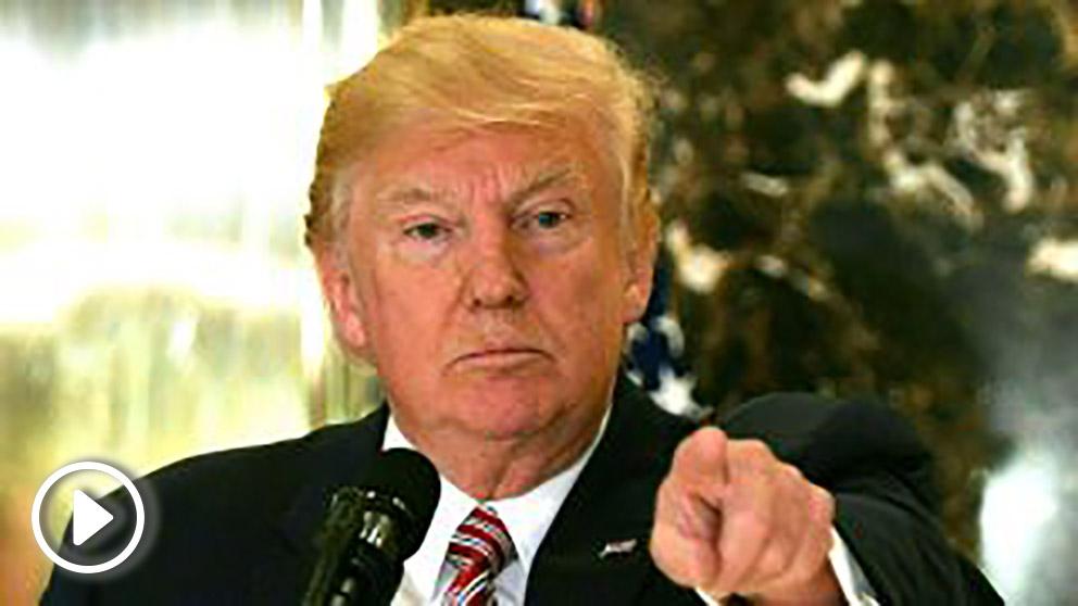 Donald Trump, presidente de EEUU. (Foto: AFP)