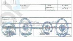 Las firmas de cuatro altos cargos del Gobierno de Maduro aparecen estampadas en la orden de pago.