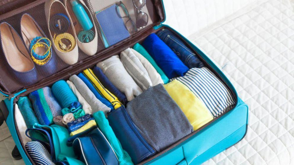Guía para organizar una maleta para aprovechar el espacio