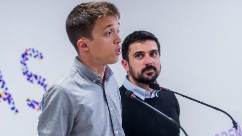 Íñigo Errejón y Ramón Espinar. (Foto. Podemos)