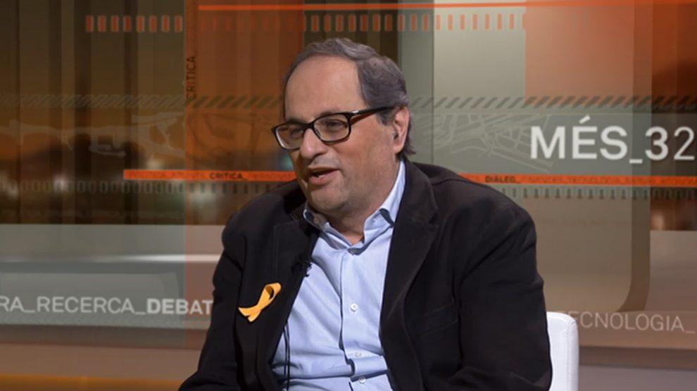 Quim Torra, ex presidente de Òmnium y diputado de JxCat en el Parlament de Cataluña.